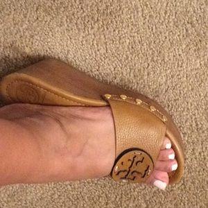 Tory Burch sandals - tan